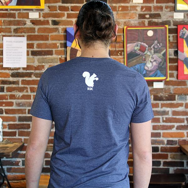 Midnight Navy T-Shirt Back