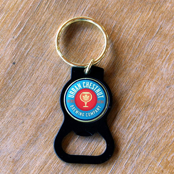 Black Keychain Bottle Opener