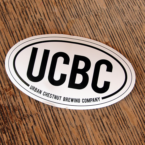 Black & White UCBC Sticker