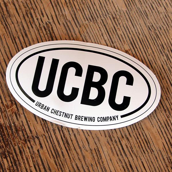 Black & White UCBC Sticker