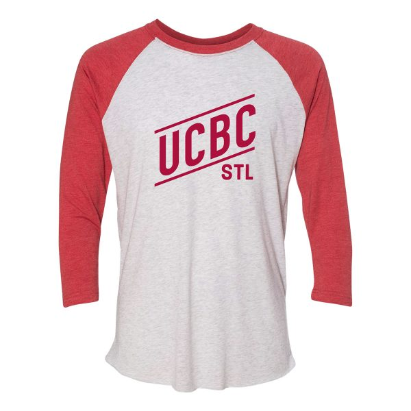 Red 3/4 Raglan T-shirt