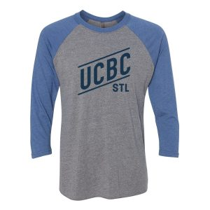 Royal Blue 3/4 Raglan T-Shirt