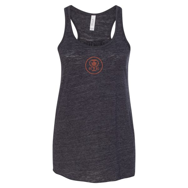 Women's Orange Logo Racerback Tank